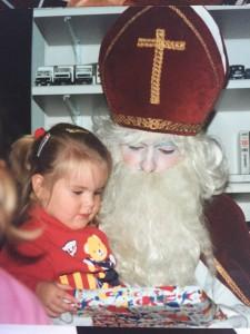 Kleine Jodi viert Sinterklaas….mijn herinneringen