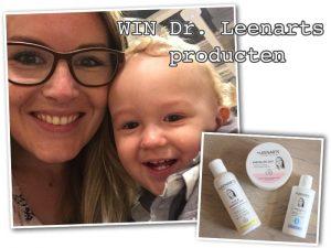 GESLOTEN: De huid van mijn spruit + WIN 3 producten van Dr Leenarts